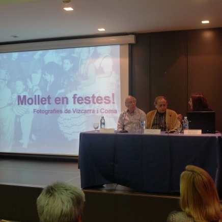 Presentació de l'exposició Mollet en Festes!, 2013
