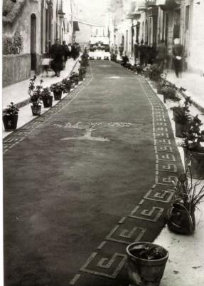 Corpus al carrer Ventalló, fotografia d'en J. Coma