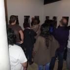 Visita a l'exposició Mollet davant la càmera, 2013