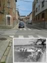 El safareig de Can Lledó estava situat a l'actual cruïlla del carrer Gaietà Vinzia amb el carrer del Comte d'Urgell