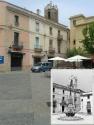 La font de Prat de la Riba inicialment estava situada al centre de la plaça. Posteriorment va ser re-ubicada en un lateral de la mateixa.