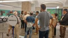 Visita al Museu de la moto de Barcelona