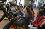 """Visita a l'exposició """"De la bici a la moto a Mollet. La indústria de les dues rodes"""""""