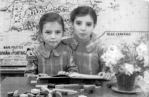 Alicia i Amor Bastida, dècada de 1940
