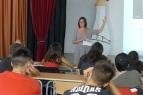 Presentació del blog Els nostres mestres als alumnes de l'Institut Vicenç Plantada (11)