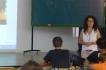 Presentació del blog Els nostres mestres als alumnes de l'Institut Vicenç Plantada (4)