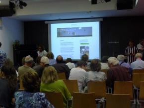 Acte de presentació de la 6a edició del blog Els nostres mestres