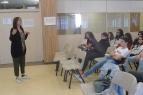 Presentació del blog Els nostres mestres als alumnes del Col·legi Lestonnac